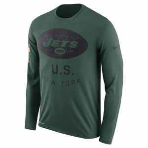 nike salute to service new york jets LS t shirt